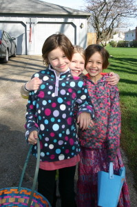 Girls Easter 2015