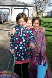 Girls Easter 2015